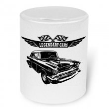 Chevrolet Bel Air 1957  Moneybox / Spardose mit Aufdruck