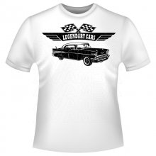 Chevrolet Bel Air 1957 Version2 T-Shirt / Kapuzenpullover...