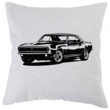 Chevrolet Camaro RS (1967) Car-Art-Kissen / Car-Art-Pillow