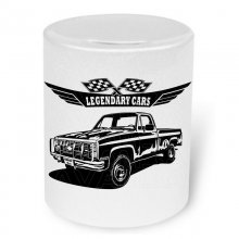 Chevrolet K30 Pick up M1008 C / K Serie  Moneybox / Spardose mit Aufdruck