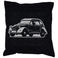 Citroen 2 CV Ente  Car-Art-Kissen / Car-Art-Pillow