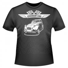 Citroen 2 CV Ente Version2  Citroen T-Shirt /...