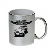 Citroen 2 CV Ente Version2  Tasse / Keramikbecher m....