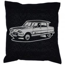 Citroen Ami 6  (1961 - 1969) Car-Art-Kissen / Car-Art-Pillow