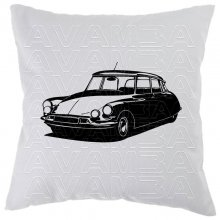 Citroen DS 19  Car-Art-Kissen / Car-Art-Pillow