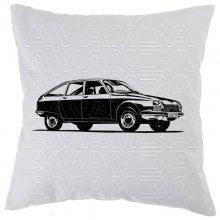 Citroen GS  (1970 - 1986)  Car-Art-Kissen / Car-Art-Pillow