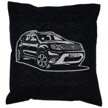DACIA Duster2  Car-Art-Kissen / Car-Art-Pillow