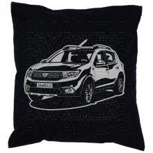 DACIA Sandero Car-Art-Kissen / Car-Art-Pillow