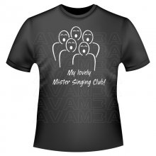 DENGLISCH; My lovely Mister Singing Club! (Mein lieber Herr Gesangverein!) T-Shirt