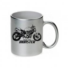DUCATI  Monster Ride the monster Tasse / Keramikbecher m. Aufdruck
