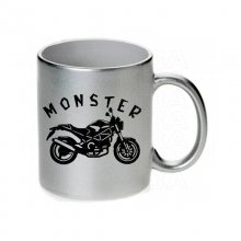 DUCATI  Monster Tasse / Keramikbecher m. Aufdruck