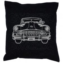 De Soto De Luxe 1951 Car-Art-Kissen / Car-Art-Pillow