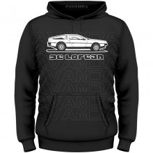 DeLorean DMC-12 Version2 T-Shirt/Kapuzenpullover (Hoodie)