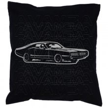 Dodge Charger 1969 (V2) Car-Art-Kissen / Car-Art-Pillow