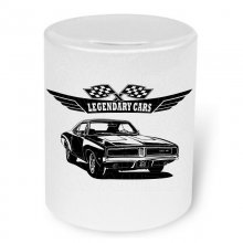 Dodge Charger 1969 V3 Moneybox / Spardose mit Aufdruck
