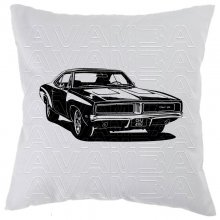 Dodge Charger 1969 Version3 Car-Art-Kissen / Car-Art-Pillow