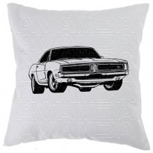 Dodge Charger 1969 muscle car Car-Art-Kissen /...