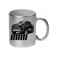Dodge Ram Rebel Tasse / Keramikbecher m. Aufdruck