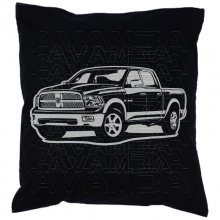 Dodge Ram (ab 2009)  Car-Art-Kissen / Car-Art-Pillow