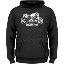 Ducati Monster Ride the Monster  T-Shirt/Kapuzenpullover...