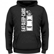 EAT SLEEP CARS  T-Shirt/Kapuzenpullover (Hoodie)