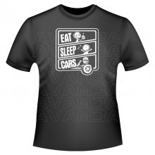 EAT SLEEP CARS Version2  T-Shirt/Kapuzenpullover (Hoodie)