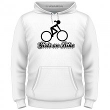 Fahrrad Girls on bike T-Shirt/Kapuzenpullover (Hoodie)