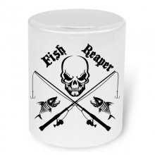 Fish Reaper No. 1  Moneybox / Spardose mit Aufdruck