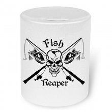 Fish Reaper No. 2  Moneybox / Spardose mit Aufdruck