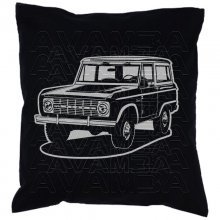 Ford Bronco 1974  Car-Art-Kissen / Car-Art-Pillow