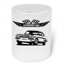 Ford Capri RS 2600 (1970 - 1973)  Moneybox / Spardose mit...