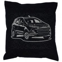 Ford Ecosport (2012 -2017) Car-Art-Kissen / Car-Art-Pillow