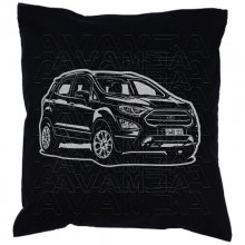 Ford Ecosport (2017 -) Car-Art-Kissen / Car-Art-Pillow