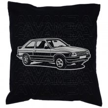Ford Escort 3  (1980 - 1986) Car-Art-Kissen / Car-Art-Pillow