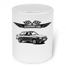 Ford Escort 3  (1980 - 1986) Moneybox / Spardose mit...