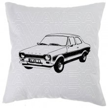 Ford Escort Mk.1 Car-Art-Kissen / Car-Art-Pillow