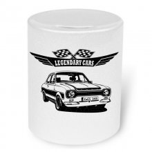Ford Escort Mk.1  RS 2000 Moneybox / Spardose mit Aufdruck