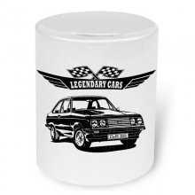 Ford Escort RS 2000 Mk. 2   Moneybox / Spardose mit Aufdruck