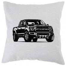 Ford F 150 Raptor (ab 2018)  Car-Art-Kissen / Car-Art-Pillow