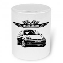 Ford Focus  (1998 - 2004)  Moneybox / Spardose mit Aufdruck