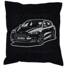 Ford Focus  (ab 2018 )   Car-Art-Kissen / Car-Art-Pillow