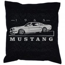 Ford Mustang Fastback 1965  Car-Art-Kissen / Car-Art-Pillow