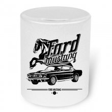 Ford Mustang Fastback 1967 Hommage Moneybox / Spardose...