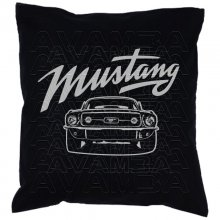 Ford Mustang Front 1967  Car-Art-Kissen / Car-Art-Pillow