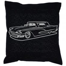 Ford Thunderbird 1960 Car-Art-Kissen / Car-Art-Pillow