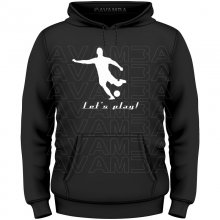Fußball Lets play T-Shirt/Kapuzenpullover (Hoodie)