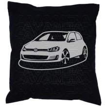 GOLF VII 7  ArtStyle (ab 2012) Car-Art-Kissen / Car-Art-Pillow