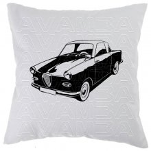 Glas Goggomobil Coupe TS 250 Car-Art-Kissen / Car-Art-Pillow