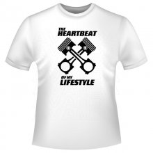 HEARTBEAT of my LIFESTYLE   T-Shirt/Kapuzenpullover (Hoodie)