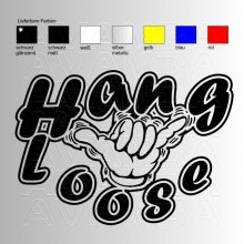 Hang loose  Aufkleber / Sticker